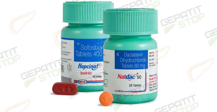 Hepcinat /Natdac для комплексного и эффективного лечения ВГС 1-4 генотипов